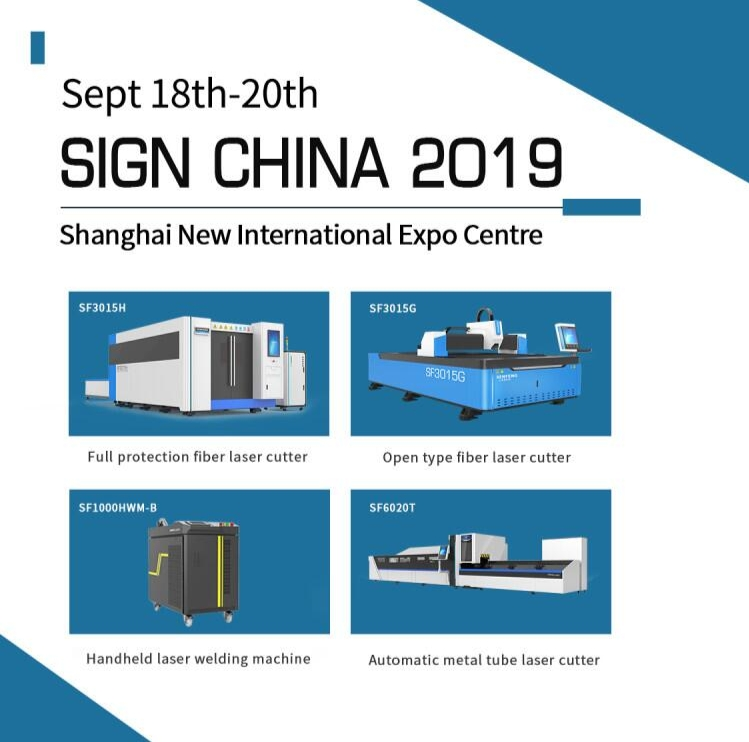 Sign China 2019-SENFENG LEIMING LASER